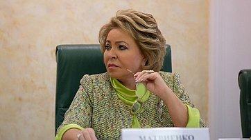 Выступление В.Матвиенко назаседании Совета порегиональному здравоохранению
