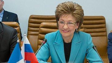 Г. Карелова провела встречу с делегацией Сената Французской Республики