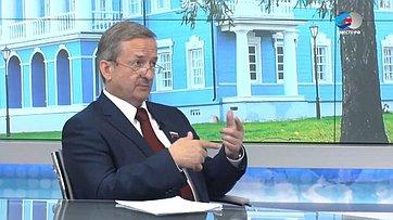 Глава Заксобрания Вологодской области Г. Шевцов озаконодательной практике врегионе
