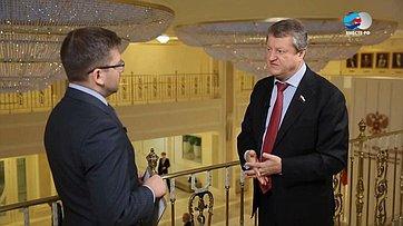 В. Харламов оовершенствовании законодательства вобласти развития потребительской кооперации