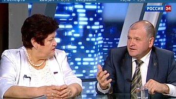 О состоянии здравоохранения в Российской Федерации. Программа «Сенат» телеканала «Россия 24»