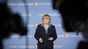 Председатель ЦИК Э.Памфилова оназначении выборов Президента России