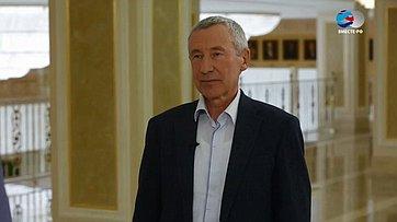 А. Климов овлиянии межпарламентской дипломатии надиалог состранами Европы, Азии иСША