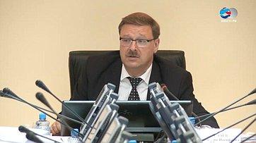 СФ выступит сзаявлением обосновных направлениях взаимодействия сМПС