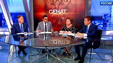 День защиты детей. Программа «Сенат» телеканала «Россия 24»