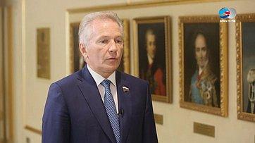 В. Пономарев оботкрытии памятника жертвам нацизма вГермании