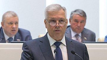 Выступление руководителя Россельхознадзора С.Данкверта на414-м заседании Совета Федерации