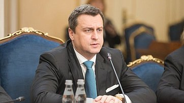 Встреча В.Матвиенко сПредседателем Национального совета Словакии А.Данко