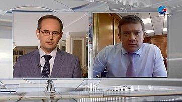Н. Журавлев оподдержке региональных бюджетов ипроникновении финансовых инструментов вРоссии