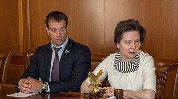 Встреча Председателя СФ сруководителями Ханты-Мансийского автономного округа-Югры