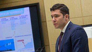 Выступление вСФ губернатора Калининградской области А.Алиханова