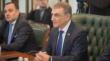 Председатель СФ В. Матвиенко провела встречу сПредседателем Национального Собрания Республики Армения А.Баблояном