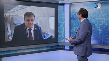 В.Джабаров обитогах официального визита делегации Совета Федерации вБеларусь