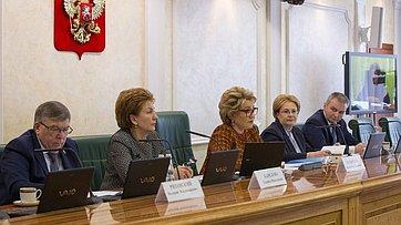 Выступление В. Матвиенко назаседании Совета порегиональному здравоохранению при СФ
