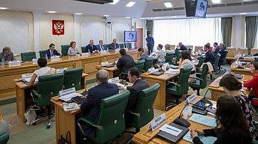 Заседание Совета повопросам жилищного строительства исодействия развитию жилищно-коммунального комплекса при СФ. Запись трансляции от4июля 2018г
