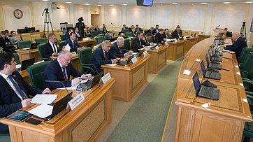 Расширенное заседание комитета Совета Федерации поэкономической политике. Запись трансляции от13февраля 2018г