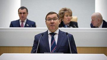 Выступление вСФ Министра строительства ижилищно-коммунального хозяйства В.Якушева