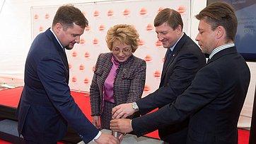 Председатель СФ В.Матвиенко посетила ОЭЗ ППТ «Моглино»