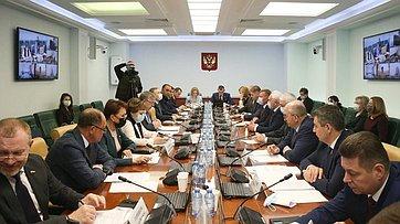 Расширенное заседание Комитета СФ посоциальной политике врамках Дней Курской области вСФ. Запись трансляции от22апреля 2021года