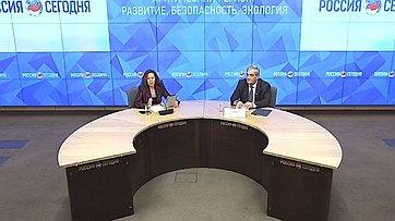 В. Штыров принял участие в пресс-конференции «Арктический регион: развитие, безопасность, экология» в Международном мультимедийном пресс-центре МИА «Россия сегодня»