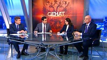 Обязательное медицинское страхование. Программа «Сенат» телеканала «Россия 24»