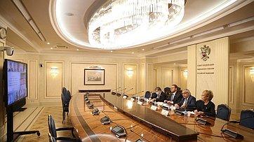 Константин Косачев провел «круглый стол», посвященный 75-летию Организации Объединенных Наций