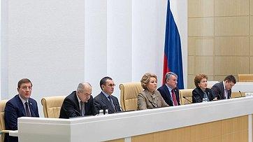 Выступление В.Матвиенко на477-м заседании Совета Федерации
