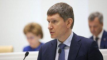 Выступление Министра экономического развития Российской Федерации Максима Решетникова на495-м заседании Совета Федерации