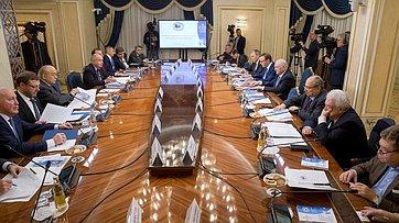 Заседание правления Интеграционного клуба при Председателе Совета Федерации. Запись трансляции от13декабря 2018года