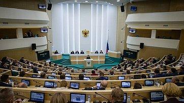 465-е заседание Совета Федерации. Запись трансляции от25сентября 2019года