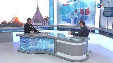 Председатель Заксобрания Калужской области Н.Любимов оприоритетных направлениях законодательной деятельности региона