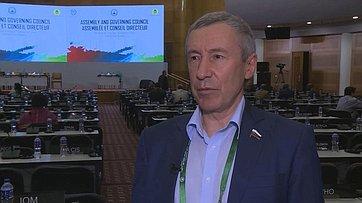 А. Климов оработе 136-й Ассамблеи Межпарламентского союза