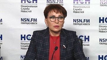 Татьяна Кусайко приняла участие впресс-конференции «Новая демографическая политика: как спасти Россию отвымирания?» впресс-центре Национальной службы новостей
