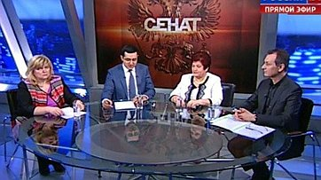 Реформа здравоохранения. Программа «Сенат» телеканала «Россия 24»