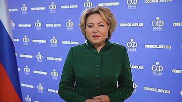 Председатель Совета Федерации Валентина Матвиенко дала старт дневному марафону «Компас женского лидерства #МягкаяCила»