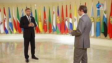 К. Косачев оВосточном экономическом форуме имирном договоре России иЯпонии
