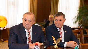 Встреча спикера СФ с руководителями Удмуртии