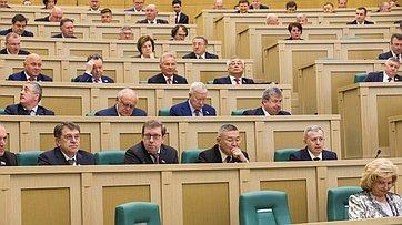 476-е заседание Совета Федерации. Часть 1. Запись трансляции от11марта 2020года