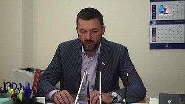 Знакомьтесь, сенатор Дмитрий Саблин. Передача телеканала «Вместе-РФ»