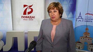 О. Хохлова оДиктанте Победы