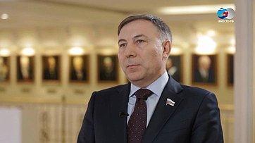 А. Варфоломеев оДнях Республики Бурятия вСовете Федерации