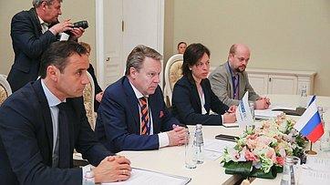 Встреча В.Матвиенко сПредседателем ПА ОБСЕ И.Канервой
