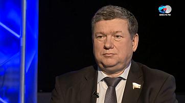 Е. Бушмин обюджетной региональной политике впередаче телеканала «Вместе-РФ» Ключевой вопрос