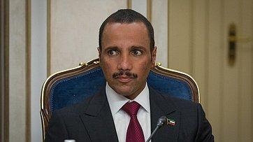 Встреча В. Матвиенко сПредседателем Национального собрания Государства Кувейт Марзуком Аль-Ганимом