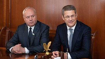 Встреча В. Матвиенко сруководителями органов власти Республики Башкортостан