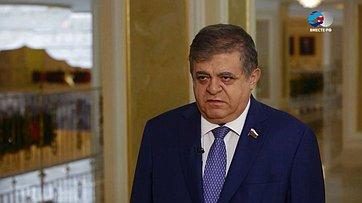 В. Джабаров оДонбассе иозаявлении главы ВМС Украины