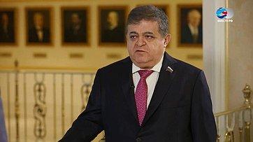 В. Джабаров оперспективе мирного договора России иЯпонии