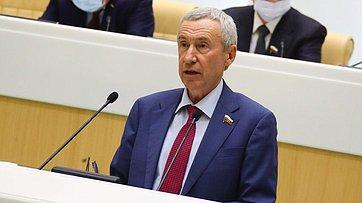 А.Климов представил ежегодный доклад Временной комиссии СФ позащите государственного суверенитета ипредотвращению вмешательства вовнутренние дела РФ