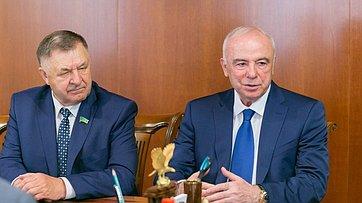 Встреча В.Матвиенко сруководителями Республики Адыгея