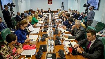 Заседание Экспертного совета поздравоохранению при Комитете СФ посоциальной политике. Запись трансляции от31мая 2019года